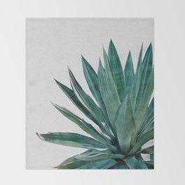 Agave Cactus Throw Blanket