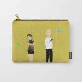 (anti)-Social Interaction Carry-All Pouch