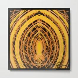 Icthus Abstract DPA160310a-14 Metal Print