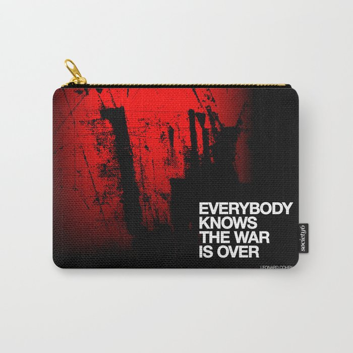 Everybody Knows Carry-All Pouch