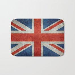 "English Flag ""Union Jack"" bright retro 3:5 Scale Bath Mat"