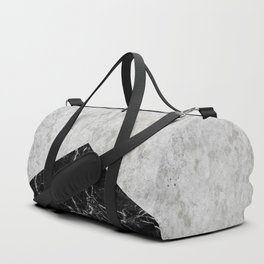 Concrete Arrow Black Granite #844 Duffle Bag