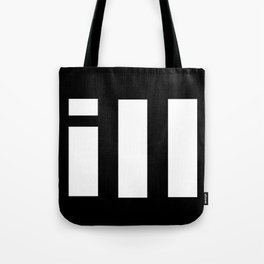 simple is ill WH Tote Bag