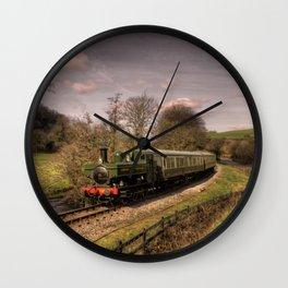 Dart Valley Pannier  Wall Clock