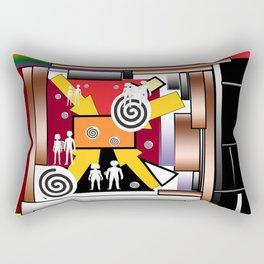 Couples in rythmos Rectangular Pillow