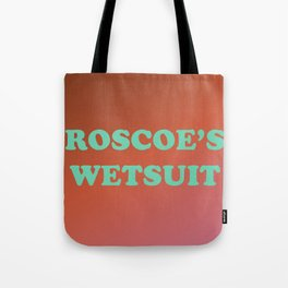 Roscoe's Wetsuit Tote Bag