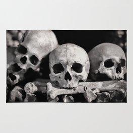 Skulls And Bones Rug