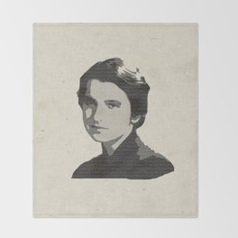 Rosalind Franklin Throw Blanket