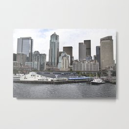 Central Waterfront Seattle Metal Print