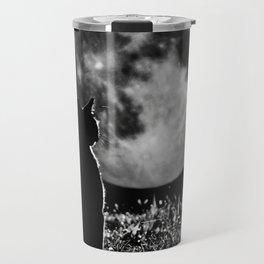 Lunar cat Travel Mug
