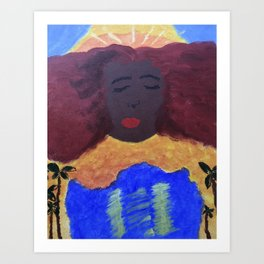 Mother Taurus Art Print