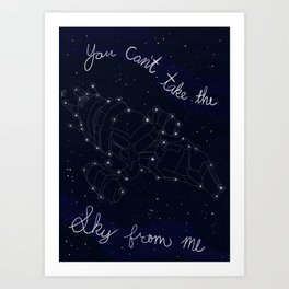 Constellation Serenity Art Print