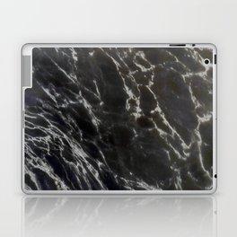 MIDNIGHT BLACK MARBLE Laptop & iPad Skin