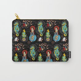 Japanese Tattoo Inspired Carry-All Pouch