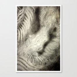 Tiger Burns Canvas Print