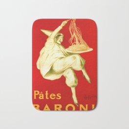 Pasta Baroni Leonetto Cappiello Bath Mat