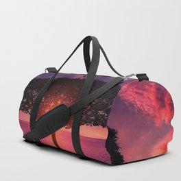 Sunset On The Sea Duffle Bag