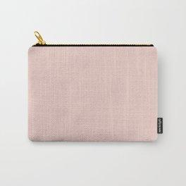 Plain Pastel Pink Colour Background Carry-All Pouch