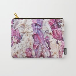 Magical pink crystal - gemstones, photography #Society6 Carry-All Pouch
