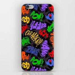 Biff Bam Pow! iPhone Skin