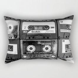Something Nostalgic - black and white #decor #buyart #society6 Rectangular Pillow