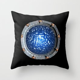 Gate of the Gods Throw Pillow