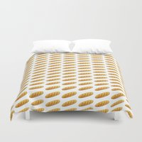 bread Duvet Covers featuring bread by Bread Sports