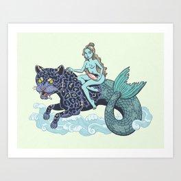 Merleopard Art Print