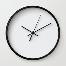White Coconut Sorbet Ice Cream Gelato Ices Wall Clock