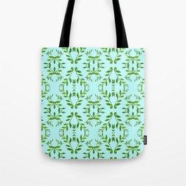 zakiaz holli aqua & green Tote Bag