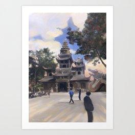 trip to Vietnam Art Print