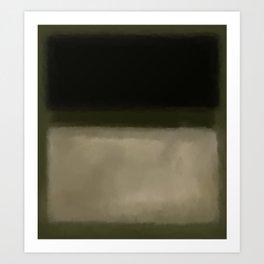 Rothko Inspired #5 Art Print