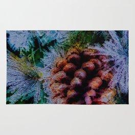 Vibrant Evergreen Christmas Rug