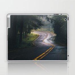 GREY - CONCRETE - ROAD - DAYLIGHT - JUNGLE - NATURE - PHOTOGRAPHY Laptop & iPad Skin