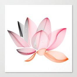 Lotus national Vietnam Canvas Print