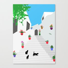 Andalusian street Canvas Print