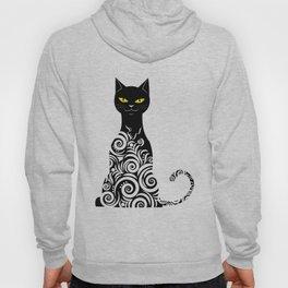 ornamental cat Hoody