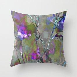 Beautiful Brambles Throw Pillow