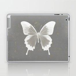 Butterfly on grunge surface Laptop & iPad Skin