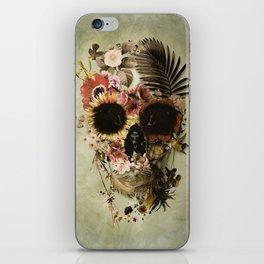 Garden Skull Light iPhone Skin
