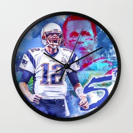 Superbowl routine Wall Clock