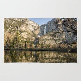 Yosemite Falls on View Rug