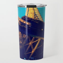 Eiffel Tower at Dusk Travel Mug