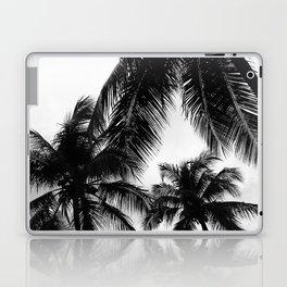 Black and White Palms Laptop & iPad Skin