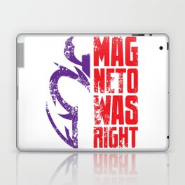 Magneto Was Right! Laptop & iPad Skin