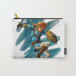 Link (The legend of Zelda Breath of the wild) Carry-All Pouch