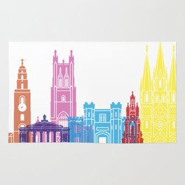 Cork skyline pop Rug