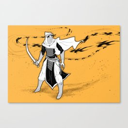 An Arabian Knight (Landscape) Canvas Print