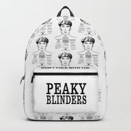 Peaky Blinders - Tattoo Tommy Shelby Backpack