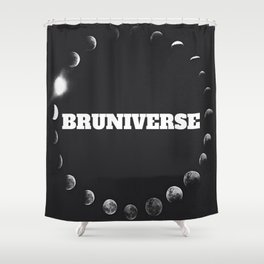 Bruniversal  Shower Curtain
